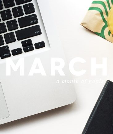 march: a month of goals | photo by kory woodard