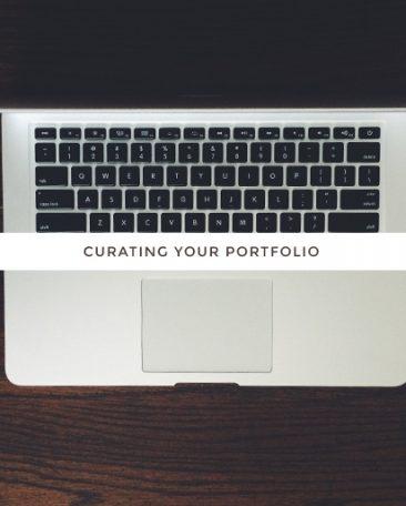 the college series | curating your portfolio