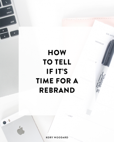 how to tell if it's time for a rebrand