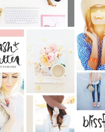 moodboard | handdrawn + girly