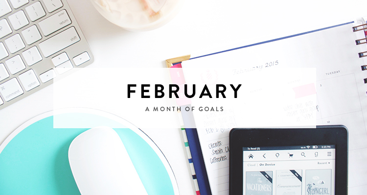 monthly goals / february