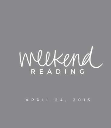 weekend reading | grab a cup of tea and check out these posts!