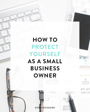 how to protect yourself as business owner