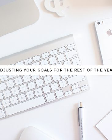 adjusting your 2015 goals for the rest of the year