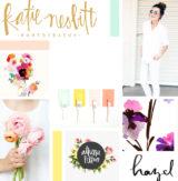 moodboard | bright + floral