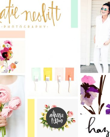 moodboard | bright + floral