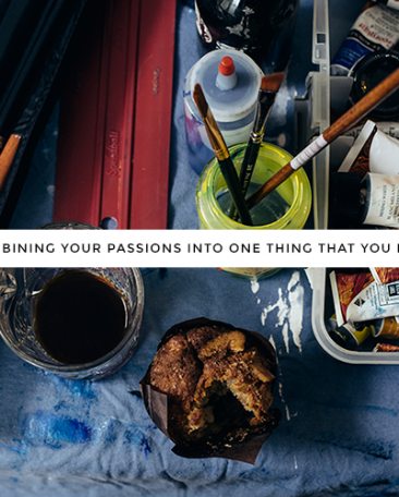 combining your passions into something you love | a guest post for Kory Woodard