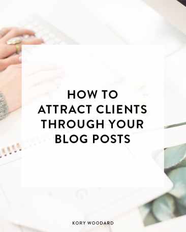 How to Attract Clients Through Your Blog