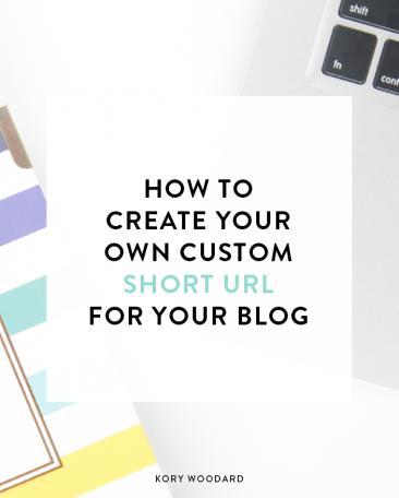 how to set up a custom short url