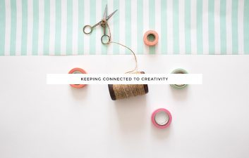 Keeping Connected to Creativity | a guest post for Kory Woodard