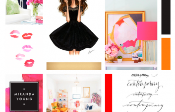 Modern + Bright Moodboard by Kory Woodard