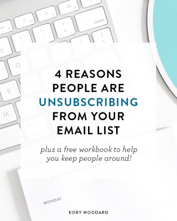 4 Reasons People Unsubscribe + Why It's Okay