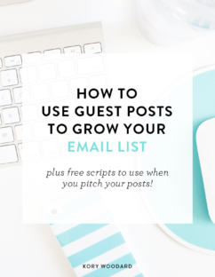 How to Use Guest Posts to Grow Your Email List