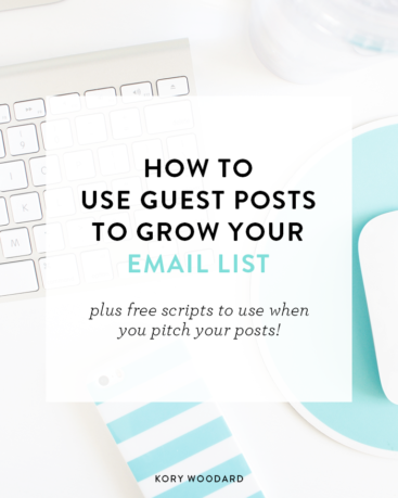 How to Use Guest Posts to Grow Your List