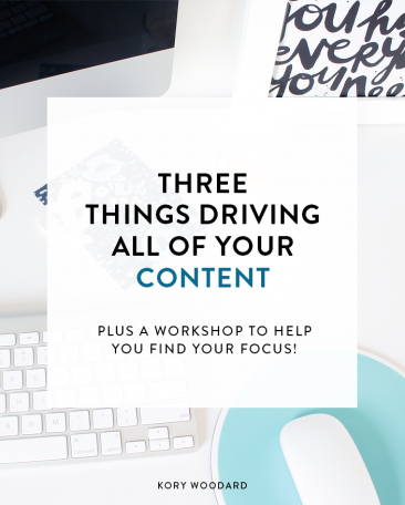 3 Things Driving All of Your Content