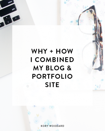 After months of thinking and trying (and failing) to plan to combine my blog and portfolio site, I finally decided to get it over with already. Click through to read why and how I did exactly that!