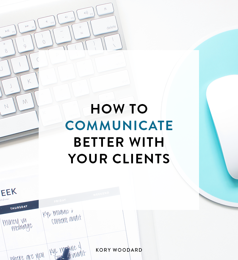 When you're running your own business, it's a no-brainer that you'll spend a fair amount of time communicating with clients. It's one of the first things you have to figure out how to do during your first few months of business. Click through to see a few tips on how to communicate better with your clients!