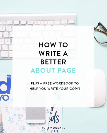 How to Write a Better About Page