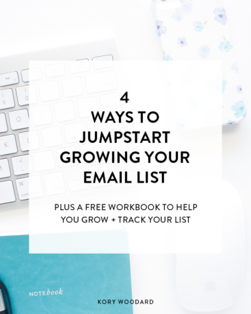 4 Ways to Jumpstart Your Email List Growth