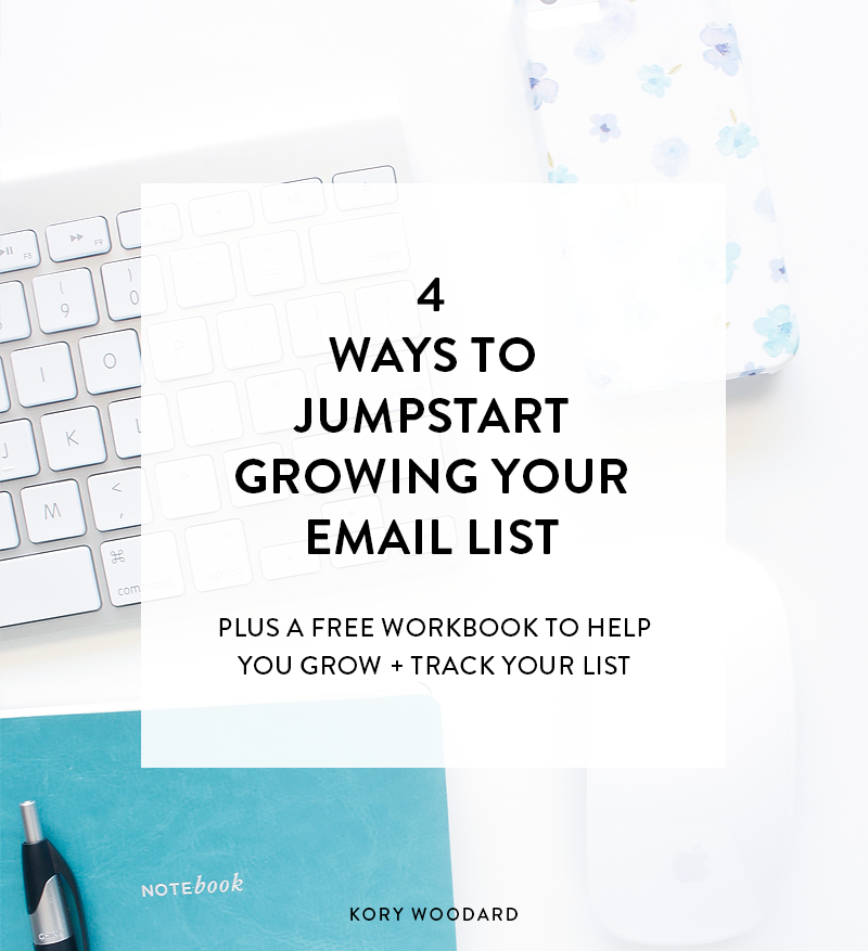 If you want to create a list of people who are eager to open your emails each week, excited to engage with your content, and are most likely to buy from you should you decide to launch anything, you want to grow your list the intentional way. Click through to check out these four list building strategies that'll help you grow your list in an intentional and authentic way!