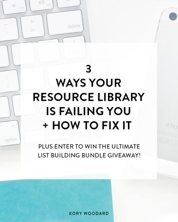 3 Ways Your Resource Library Is Failing You + How to Fix That