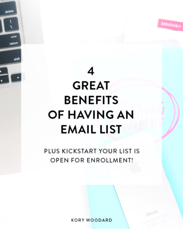4 Great Benefits of Having an Email List