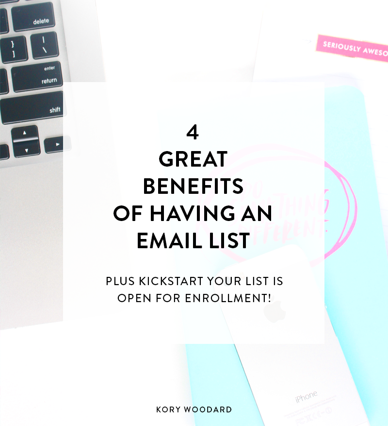 So many people stand a little uncertain on what steps they should be taking to not only establish themselves, but also skip a few of those in-between steps of trying to grow theirbrand in general. Click through to read about how email lists can help you do exactly that!