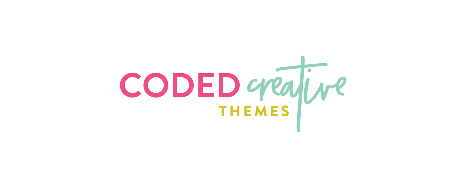 Coded Creative | Branding + Web Design by Kory Woodard