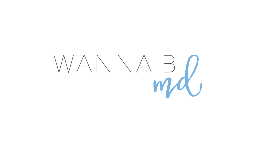 Wanna B MD - Branding and Blog Design by Kory Woodard