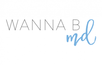 New Work: Wanna B MD - Branding and Blog Design by Kory Woodard