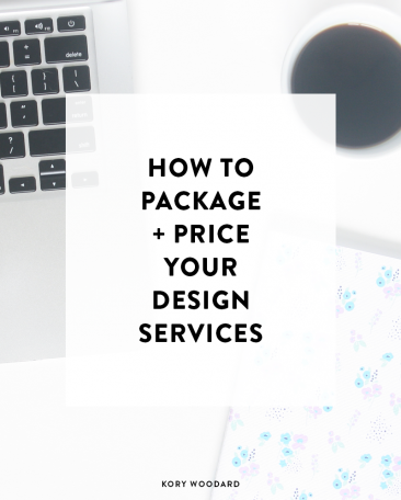 How to Package + Price Your Design Services