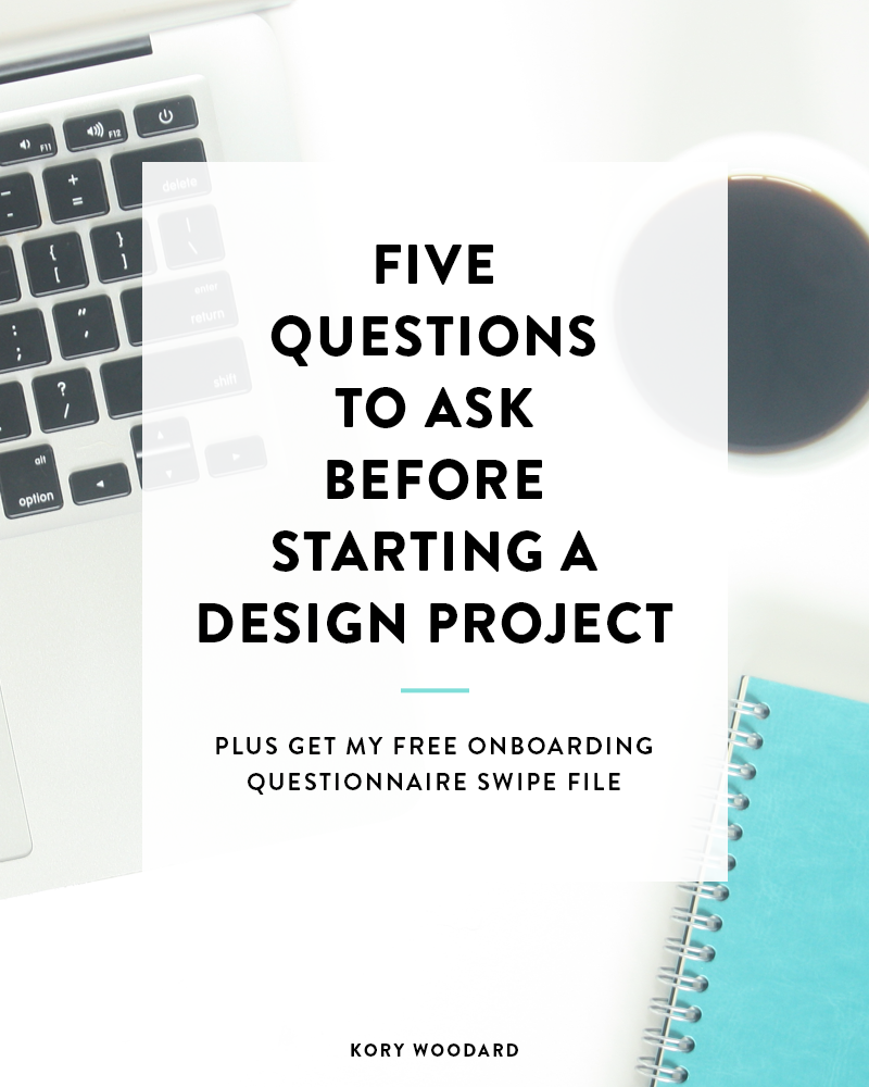 Booking a new design project? Here are 5 questions to ask before signing your contract and taking a payment.