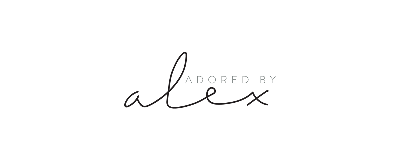 Adored By Alex | Branding by Kory Woodard