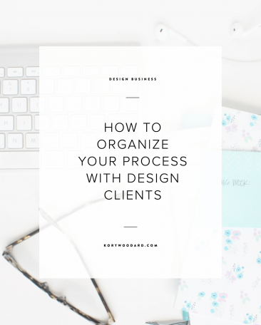 How to Organize Your Process with Design Clients