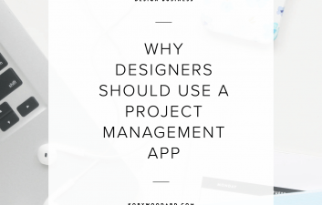 I've used a project management app to organize my client projects, maintain my editorial calendar, and keep other projects in my business on track. Needless to say, a good project management app can be used for more than just your design projects.So, today I wanted to get straight to the point and share with you 6 reasons that all designers should be using a project management app in their business.