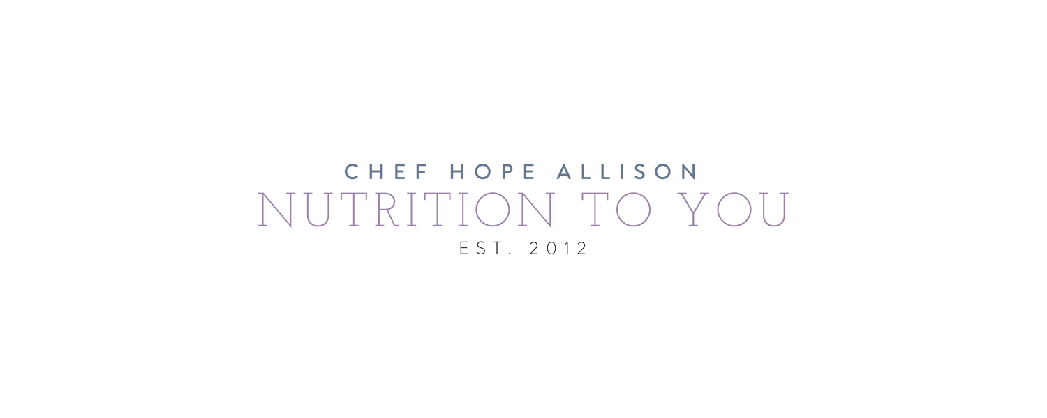 Nutrition to You - Branding by Kory Woodard