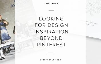 Looking for Design Inspiration Beyond Pinterest