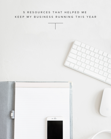 5 Resources That Helped Me Keep My Business Running This Year