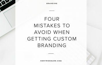 4 Mistakes To Avoid When Getting Custom Branding