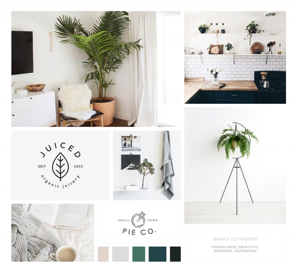 Space on Third Moodboard // by Kory Woodard