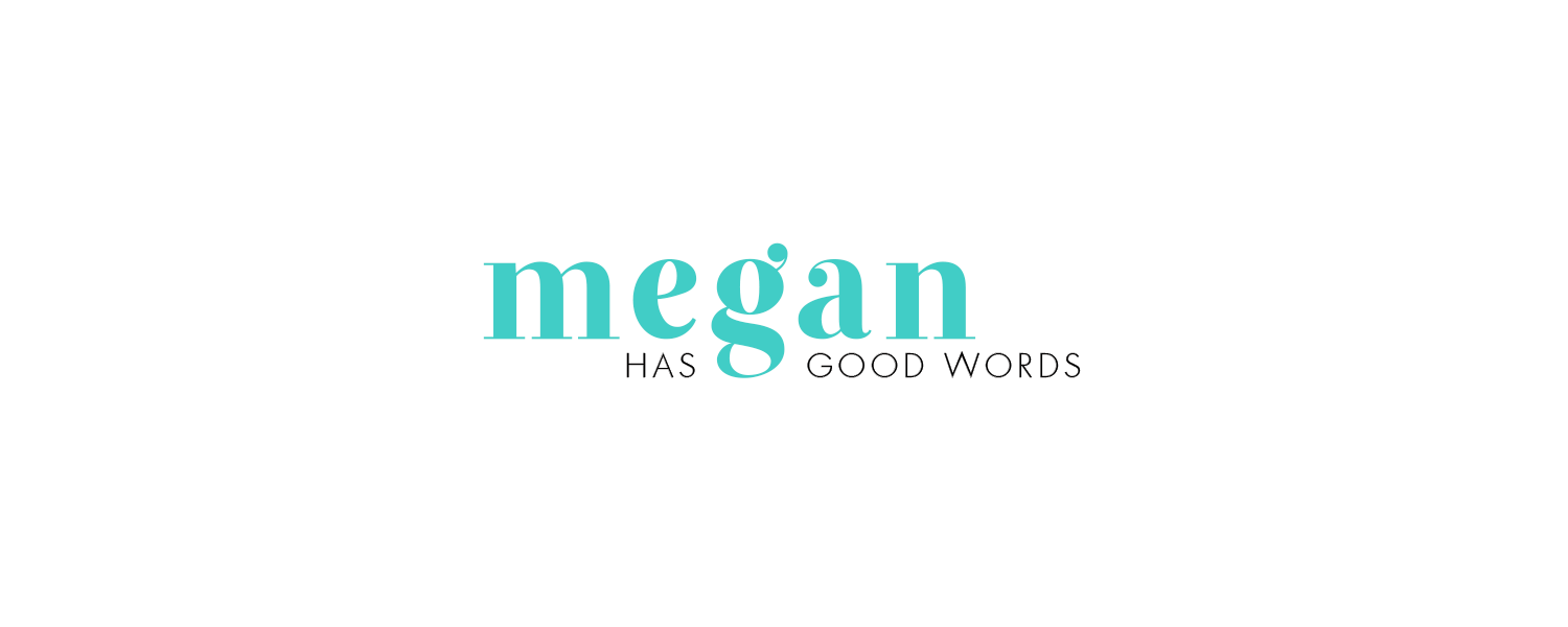 Megan Has Good Words Branding by Kory Woodard