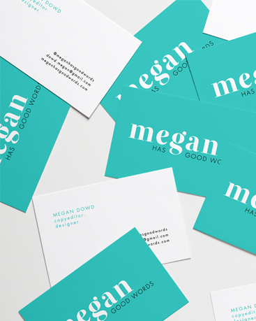New Work: Megan Has Good Words