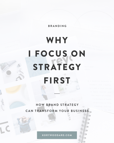 Why I Focus on Strategy First