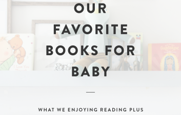 Our Favorite Books for Baby