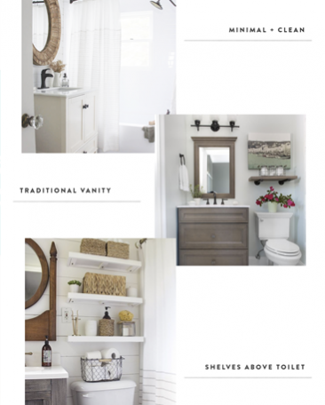 Hallway Bathroom Reno Inspiration
